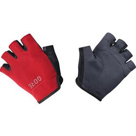 GORE WEAR C3 Halve Vinger Handschoenen, zwart/rood